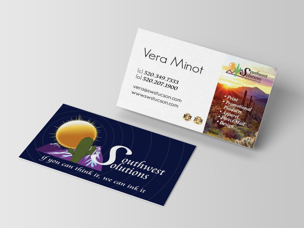 Southwest Solutions business card